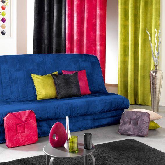 Housse de clic clac opak bleu eminza for Housse clic clac bleu