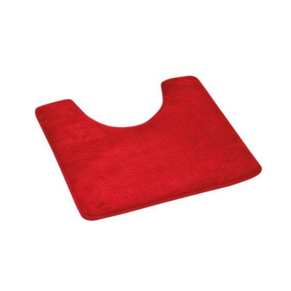 tapis contour wc microfibre simply rouge tapis contour wc eminza. Black Bedroom Furniture Sets. Home Design Ideas