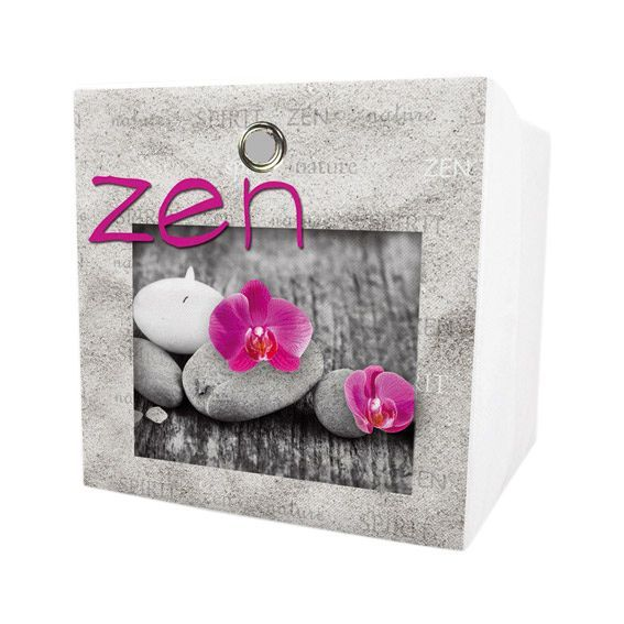 petit panier de rangement zen spirit rose rangement eminza. Black Bedroom Furniture Sets. Home Design Ideas