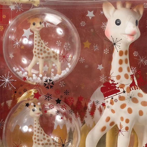 Boules de Noël Sophie la girafe bazis.az