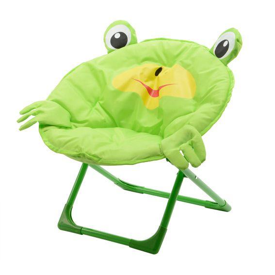 fauteuil pliant pour enfant grenouille vert - Fauteuil Grenouille