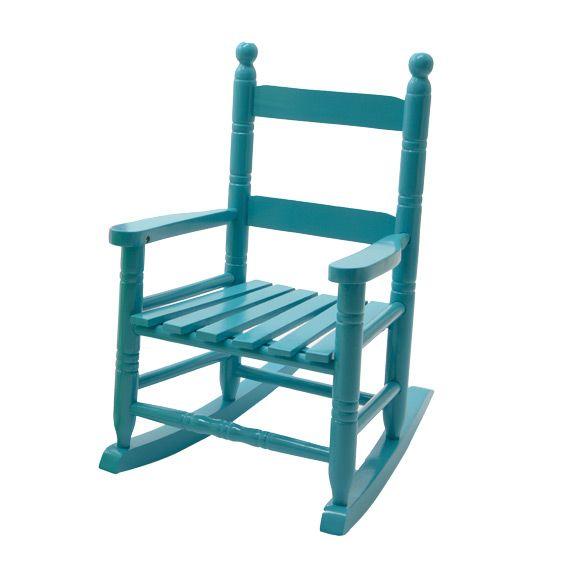 fauteuil bascule pour enfant bleu. Black Bedroom Furniture Sets. Home Design Ideas
