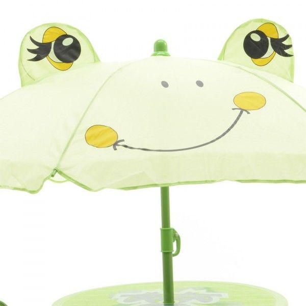 salon de jardin pour enfant grenouille - vert - am u00e9nagement d u0026 39 ext u00e9rieur