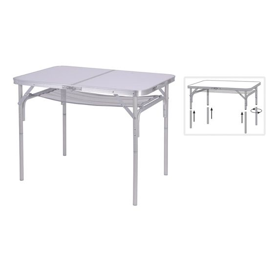 table de camping armelle blanc salon de jardin table. Black Bedroom Furniture Sets. Home Design Ideas