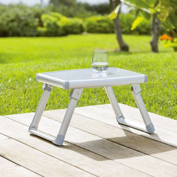 Lot de 2 tables d'appoint Volta - Gris