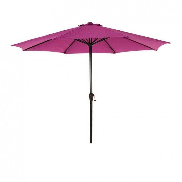 parasol voile et paravent violet eminza. Black Bedroom Furniture Sets. Home Design Ideas