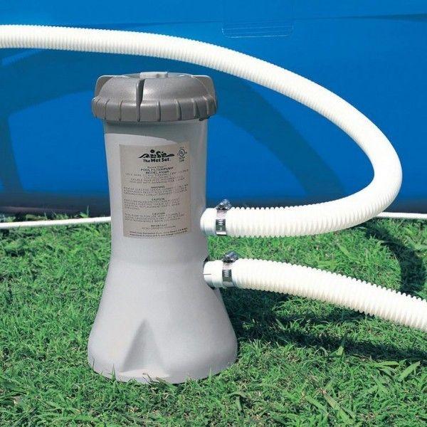 Filtre purateur cartouche 3 8 m h intex piscine et for Accessoire piscine 62