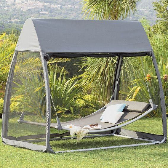 balancelle bain de soleil et hamac eminza. Black Bedroom Furniture Sets. Home Design Ideas
