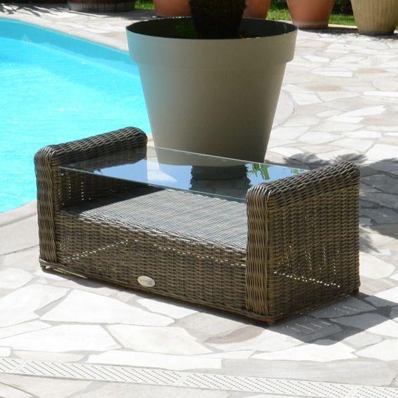Beautiful Salon De Jardin Capri Taupe Ideas - House Design ...