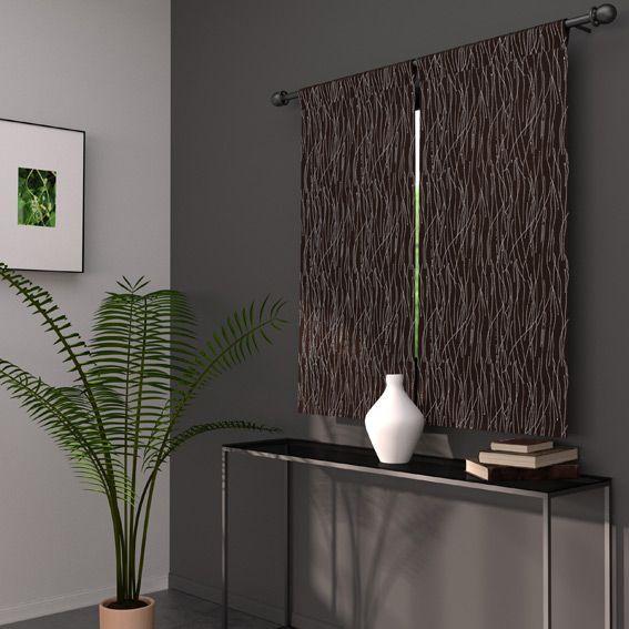 voilage vitrage largeur 70 cm rideau et voilage eminza. Black Bedroom Furniture Sets. Home Design Ideas