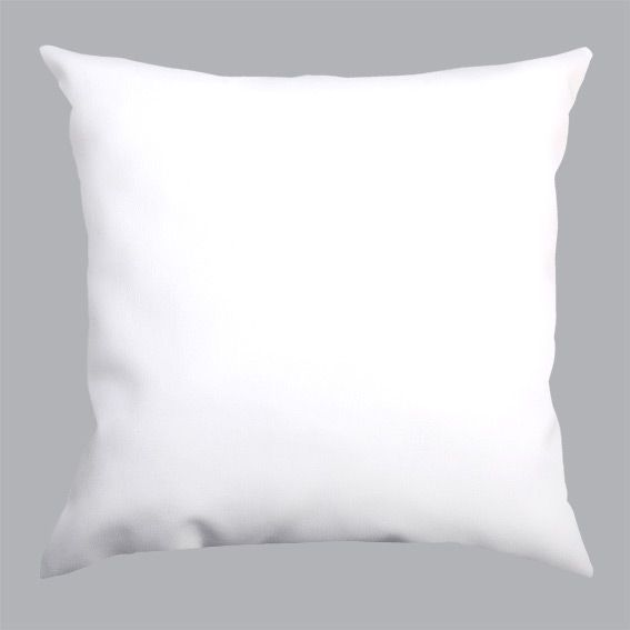 Coussin Ecocuir carr� Blanc