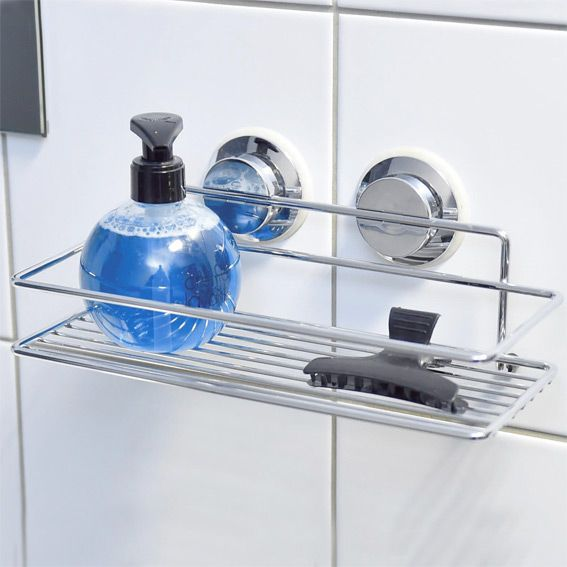 Etagère ventouse Chrome