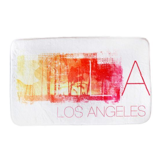 Tapis velours rectangulaire (80 cm) Los Angeles
