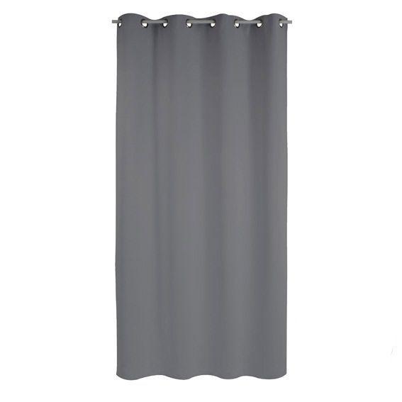 Rideau Anti-bruit (135 x H250 cm) Chut Gris - Rideau / Voilage ...