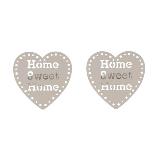 Lot de 2 pinces pivotantes Sweet home Taupe