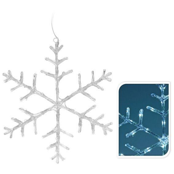 Flocon de neige LED Blanc froid