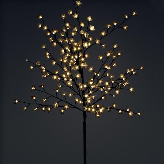 best cerisier lumineux ferie h cm blanc chaud with arbre lumineux cerisier. Black Bedroom Furniture Sets. Home Design Ideas