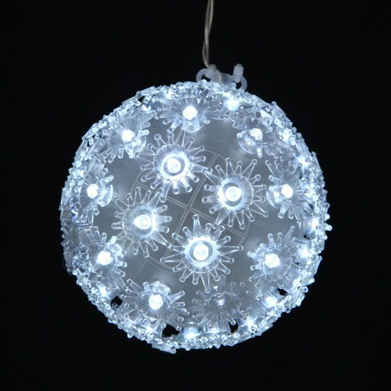 Boule lumineuse Diodon Blanc froid 100 LED