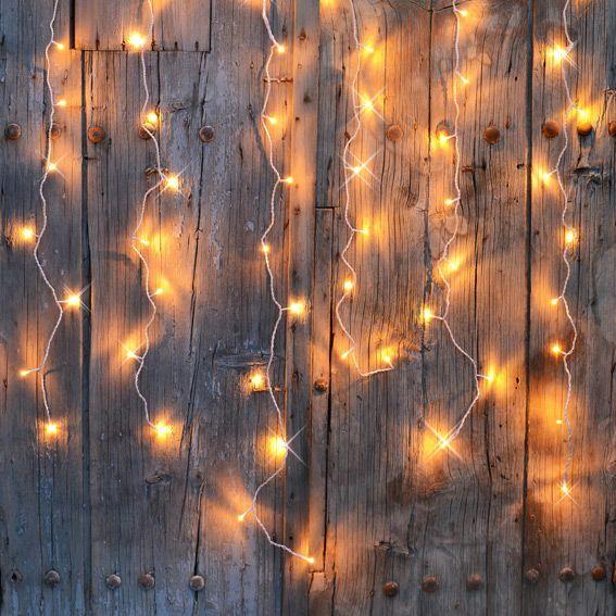 D coration lumineuse guirlande lumineuse toile lumineuse eminza for Rideau lumineux interieur