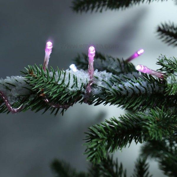 Guirlande lumineuse 64 LED Color 5 m Rose