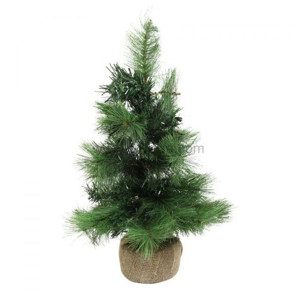 Sapin artificiel de table Cran-Montana H45 cm Vert sapin