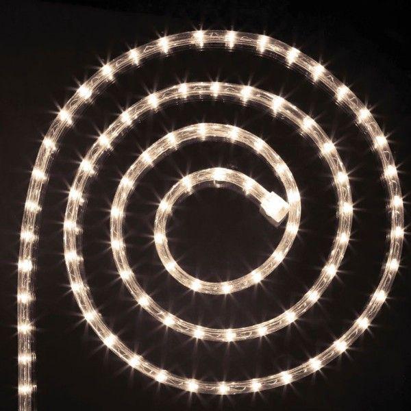 Verlichte slang 24 m warmwit 432 LED - Kerstverlichting - Eminza