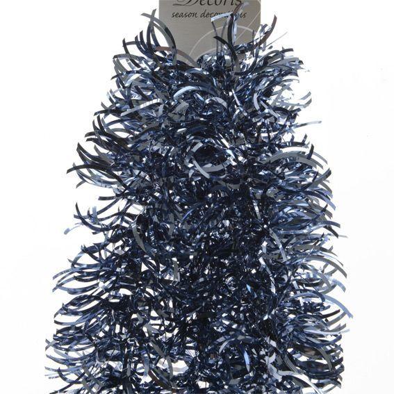 Addobbi Natalizi Jeans.Ghirlanda Di Natale O0 Cm Ondulata Alpina Blu Jeans Addobbi Albero Di Natale Eminza