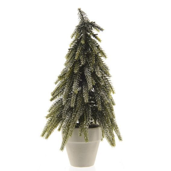 Sapin artificiel de table Kaprun H19 cm Vert sapin