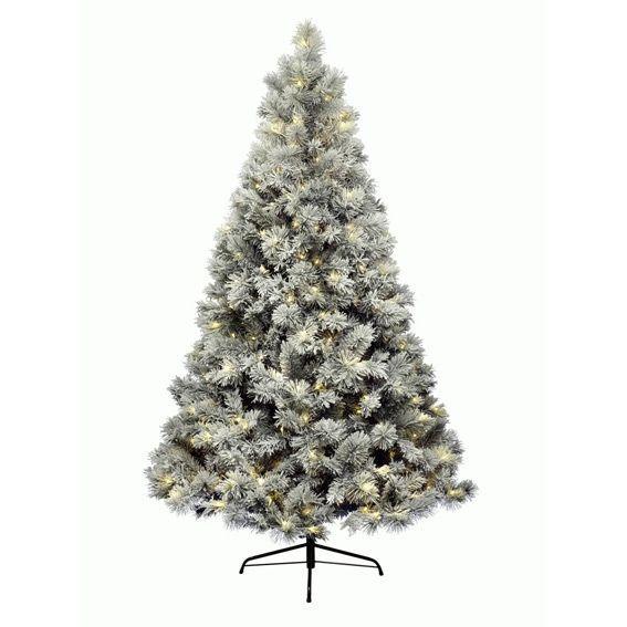 Künstlicher Weihnachtsbaum Mit Beleuchtung.Künstlicher Weihnachtsbaum Mit Beleuchtung Vancouver H210 Cm Grün Verschneit