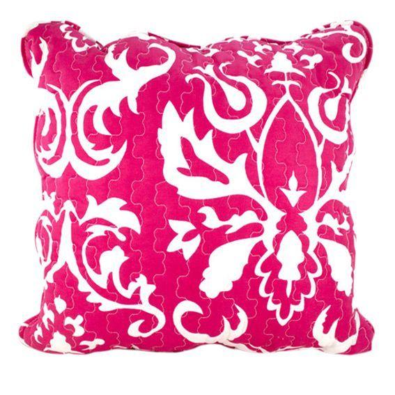 coussin eleonore framboise d co textile eminza. Black Bedroom Furniture Sets. Home Design Ideas
