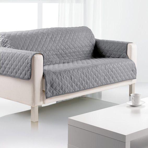 prot ge canap 3 places gris eminza. Black Bedroom Furniture Sets. Home Design Ideas