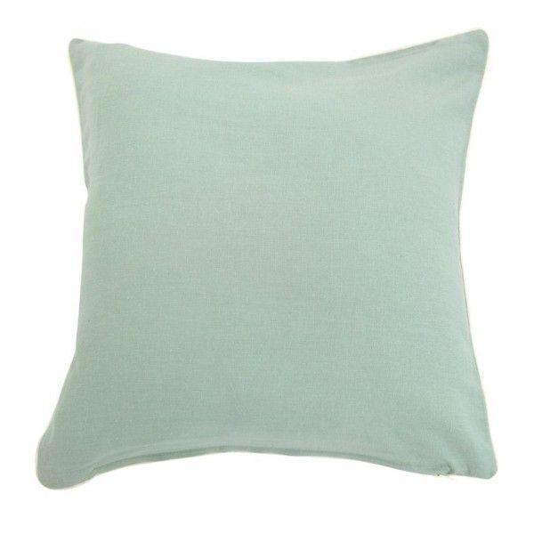 housse de coussin lin sup rieur vert poudr coussin et housse de coussin eminza. Black Bedroom Furniture Sets. Home Design Ideas
