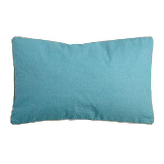 coussin et housse de coussin bleu coussin et galette eminza. Black Bedroom Furniture Sets. Home Design Ideas