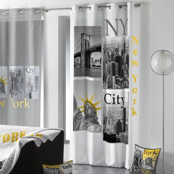 rideaux rideau et voilage eminza. Black Bedroom Furniture Sets. Home Design Ideas