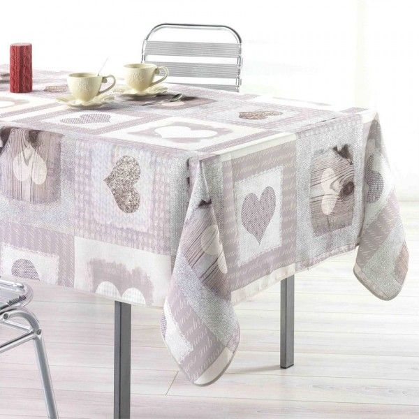 nappe de table rectangulaire l200 cm linge de table. Black Bedroom Furniture Sets. Home Design Ideas