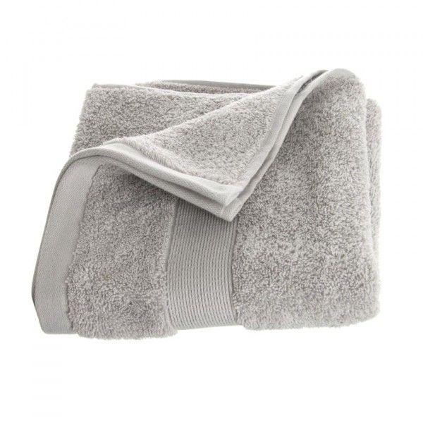 serviette de bain 50 x 90 cm vita gris serviette de bain eminza. Black Bedroom Furniture Sets. Home Design Ideas