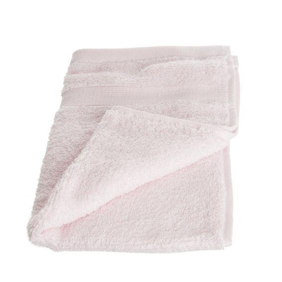 serviette de bain 30 x 50 cm vita rose clair serviette de bain eminza. Black Bedroom Furniture Sets. Home Design Ideas