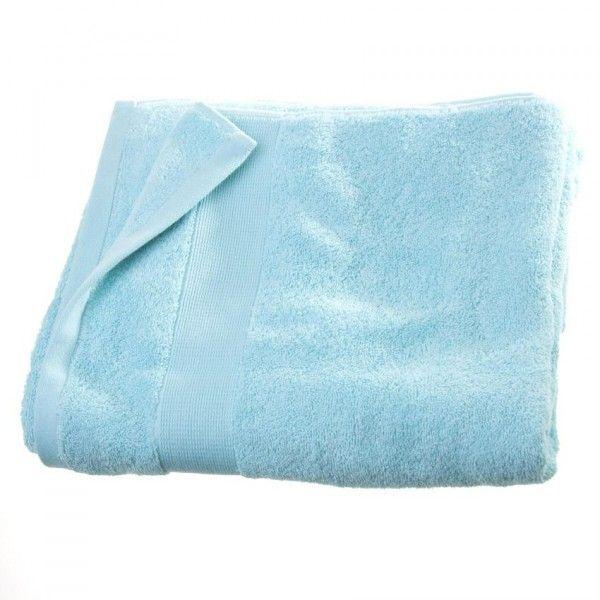 Serviette de bain (100 x 150 cm) Vita Bleu ciel - Linge de bain - Eminza