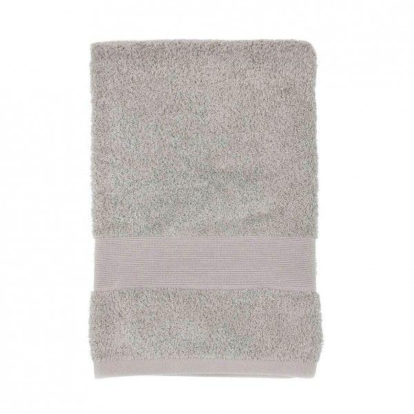 Serviette de bain (100 x 150 cm) Vita Taupe - Linge de bain - Eminza