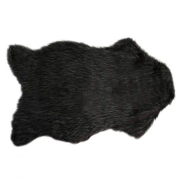tapis peau de bte imitation fourrure ours - Tapis Peau De Bete