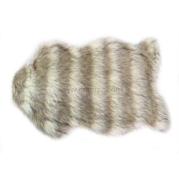 tapis peau de bte imitation fourrure loup - Tapis Peau De Bete