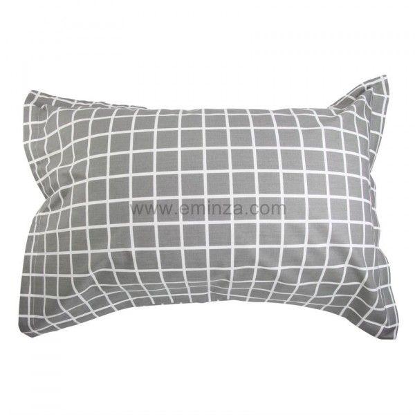 taie d 39 oreiller rectangulaire cambridge taie d 39 oreiller traversin eminza. Black Bedroom Furniture Sets. Home Design Ideas