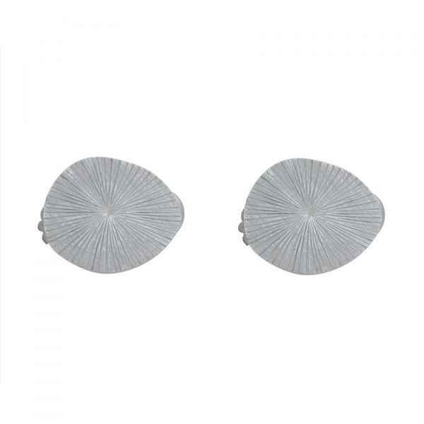 Lot de 2 pinces Fossile Gris patiné