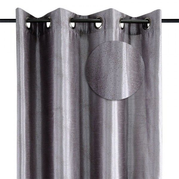 Rideau et voilage rideaux rideaux occultant voilage - Rideau gris argente ...