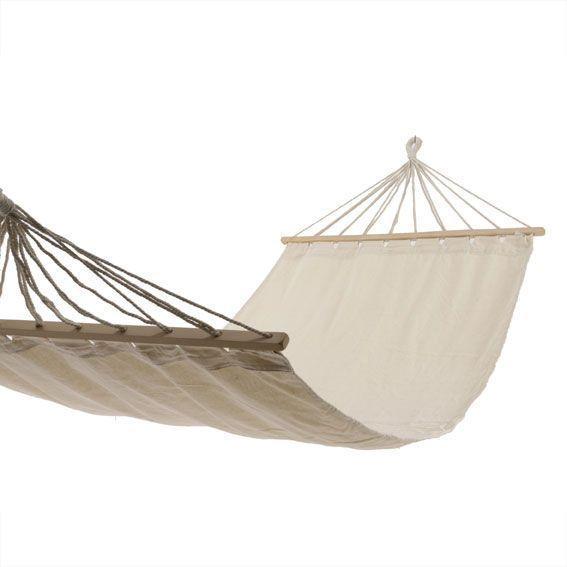 toile de hamac nature douce blanc cru transat et. Black Bedroom Furniture Sets. Home Design Ideas