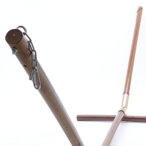 Base para hamaca de madera tumbonas y hamacas eminza - Bases para hamacas ...