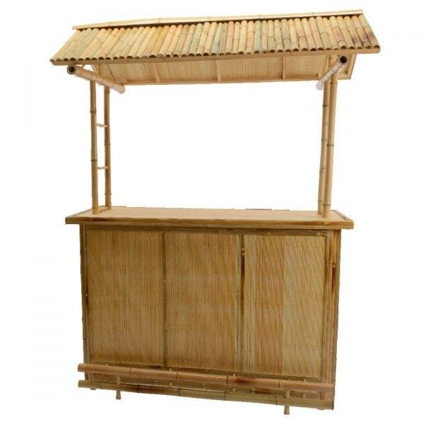 Bar de jardin bambou cuba grand mod le salon de jardin table et chaise eminza - Salon de jardin bar ...