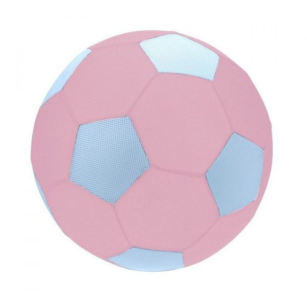 Ballon de foot gonflable Rose