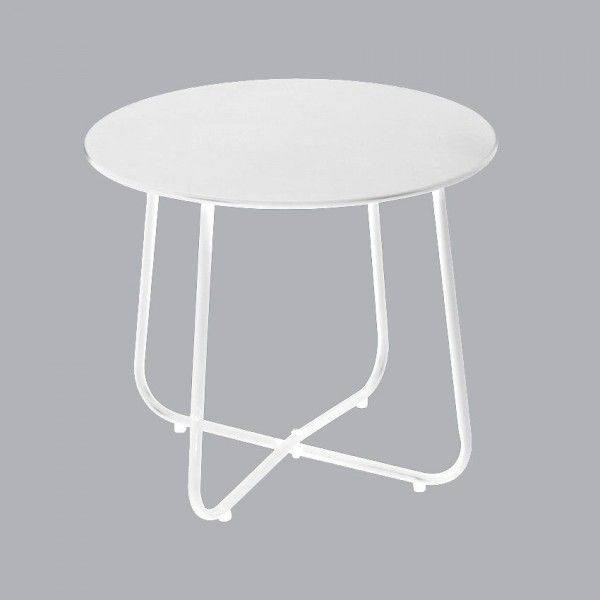 Table d'appoint Simeo - Blanc