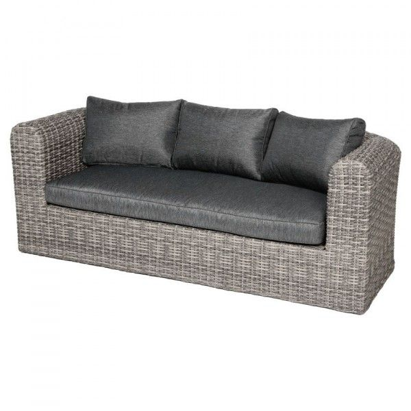 canap de jardin 3 places libertad sepia gris anthracite salon composer eminza. Black Bedroom Furniture Sets. Home Design Ideas